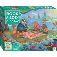 Hinkler - Wind in the Willows Book & Jigsaw Puzzle 100pc