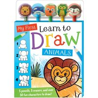 Hinkler - My First Learn to Draw Animals
