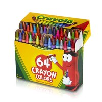 Crayola - Kid's Colour Crayons (64 pack)