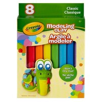 Crayola - Modelling Clay Classic Colours (8 pack)