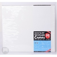 Micador Clean Slate Stretched Canvas 3/4 inch 20x16 - Twin Pack