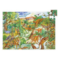 Djeco - Dinosaurs Observation Puzzle 100pce
