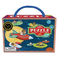 eeBoo - Up & Away Puzzle 20pce