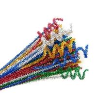 Chenille Stems Sparkle (100 pack)