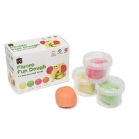 EC - Fluro Fun Dough Set (set of 4)