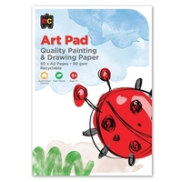 EC - Kids Art - Painting and Drawing Pad A2 (50 pages)