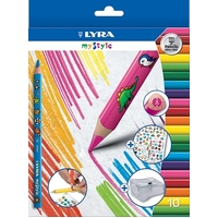 Lyra My Style Coloured Pencils (10 pack)