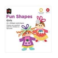 EC - Fun Shapes Girls 24 pieces