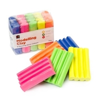 EC - Fun Clay Fluoro (5 colours) 250gm