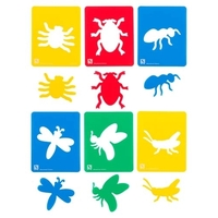 EC - Stencil Insects (set of 6)