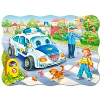 Castorland - Way to School Puzzle 30pc