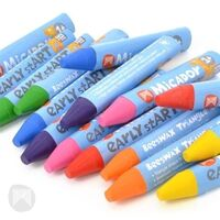 Micador - Early Start Softies Tri-Grip Crayons (24 pack)