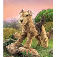Folkmanis - Airedale Terrier Puppet