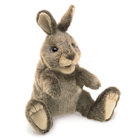 Folkmanis - Small Cottontail Rabbit Puppet