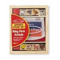 Melissa & Doug - Baby Farm Animals Stamp Set