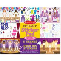 Melissa & Doug - Reusable Sticker Pad - Dress-Up