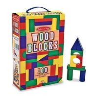 Melissa & Doug - 100 Wood Block Set