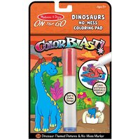 Melissa & Doug - On The Go - Color Blast! - Dinosaurs