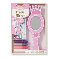 Melissa & Doug - Decorate Your Own - Wooden Crown Mirror