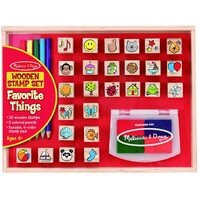 Melissa & Doug - Favourite Things Stamp Set