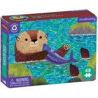 Mudpuppy - Mini Puzzle Sea Otter 48pc