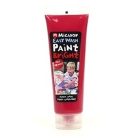 Micador - Easy Wash Paint - Red 120ml