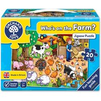 Orchard Toys - Who's On The Farm? Puzzle 20pc