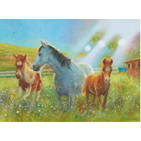 Ravensburger - Equine Pasture Puzzle 100pc