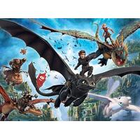 Ravensburger - How to Train your Dragon 3 The Hidden World Puzzle 100pc