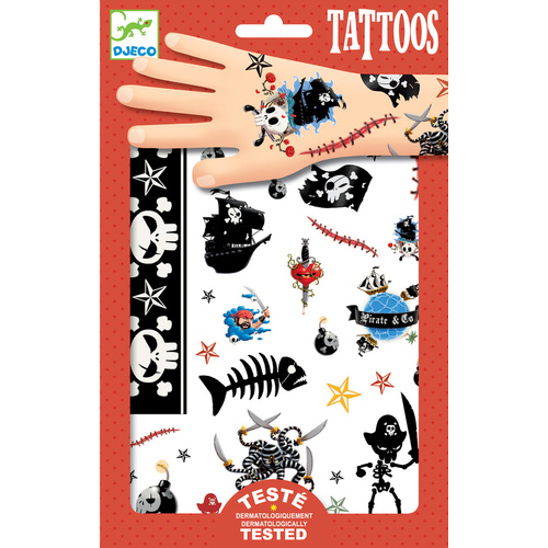 Djeco - Pirates Tattoos