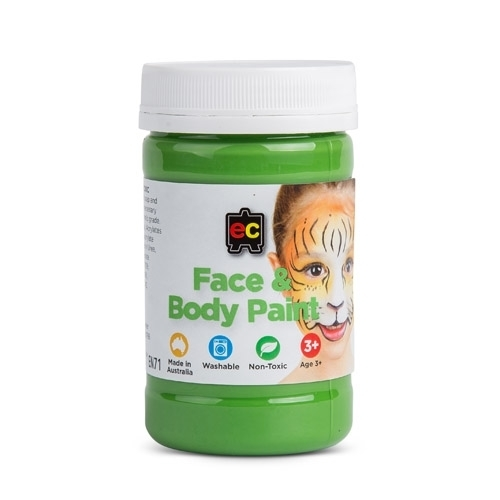EC - Face & Body Paint 175ml Jar   Green