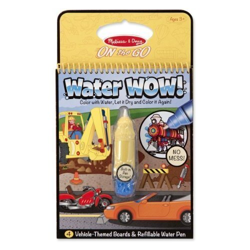 Melissa & Doug - On The Go - Water WOW! - Vehicles